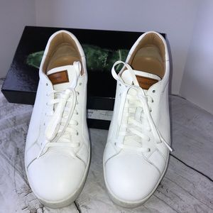 Magnanni Leather Sneakers Sz 11 Natural Color